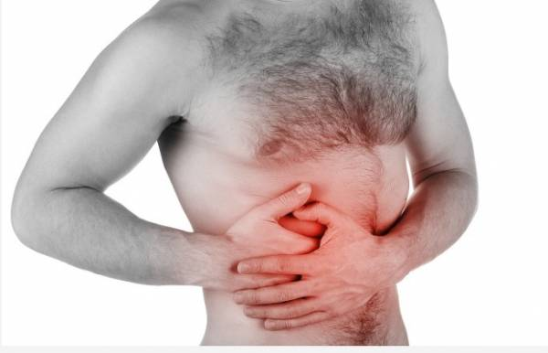 Колющая боль в правом подреберье