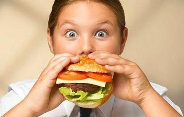 Почему у ребенка лишний вес