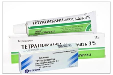 Тетрациклин таблетки: инструкция по применению препарата