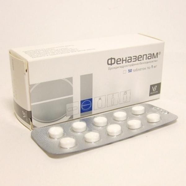 Феназепам инструкция по применению таблетки и алкоголь