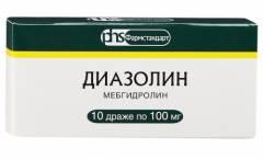 polismed.com, диазолин., инструкция, по, препарату,, применение,, цена,, формы, выпуска